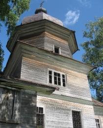 Церковь из северной древесины.