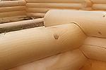 Оцилиндрованное бревно для строительства сруба