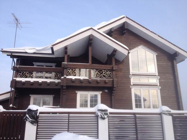 Строительство дома из клееного бруса в МО