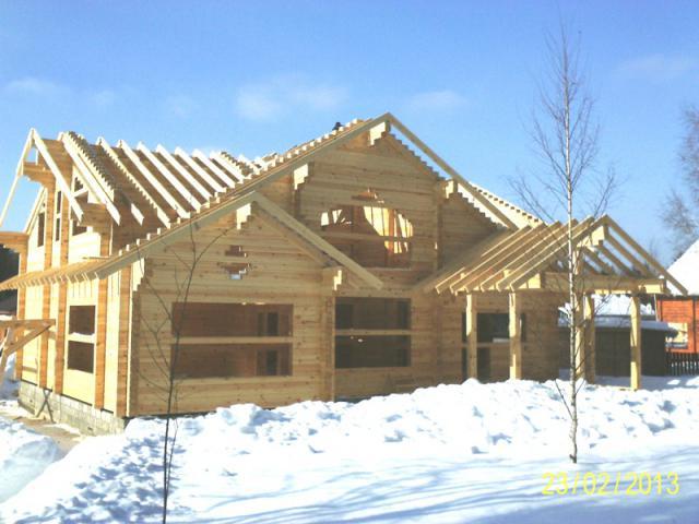 Как сушить деревянный дом
