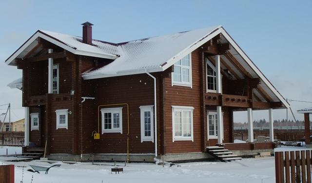 Дом из бруса строительство