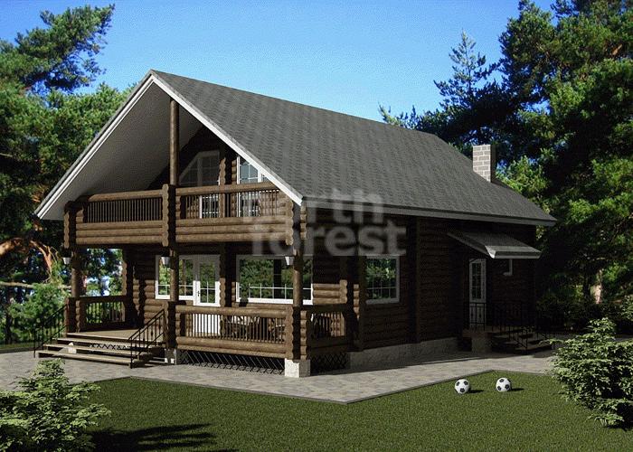 Финские деревянные дома проекты