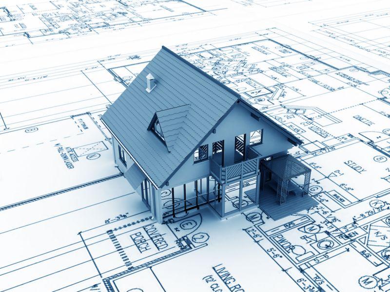 Типовой проект деревянного дома.